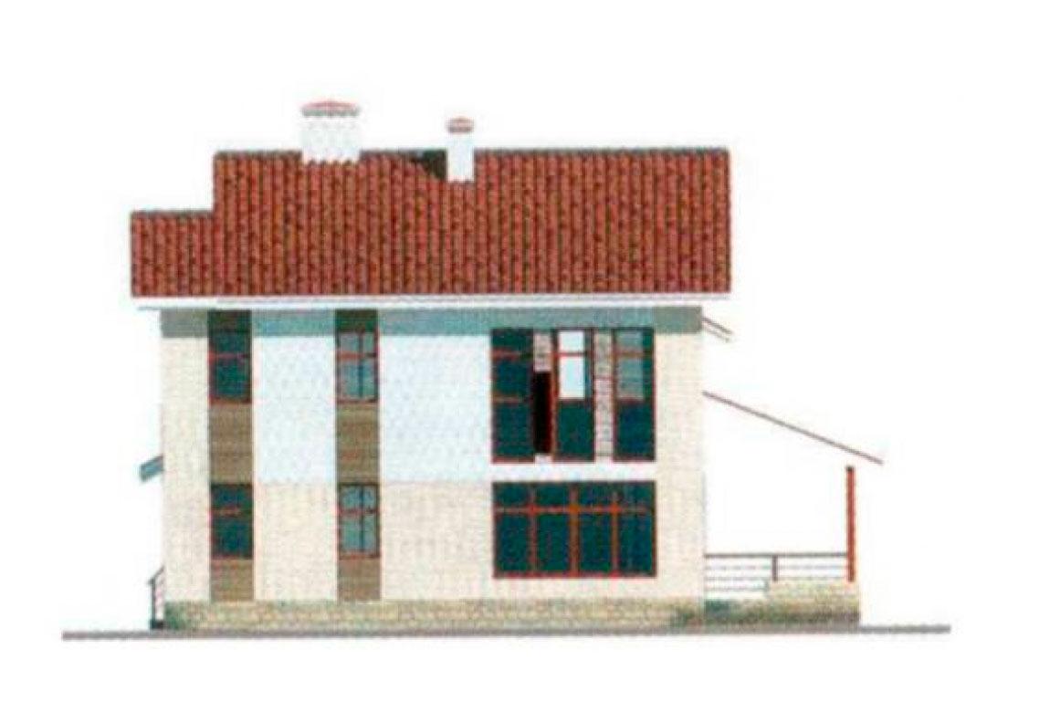 Проект дома из блоков АСД-1130 (uploads/gss/goods/130/big_2.jpg).