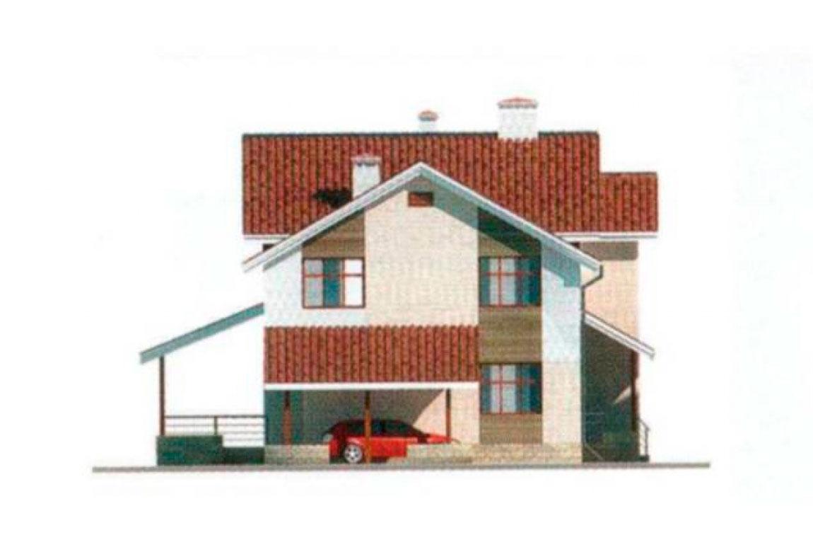 Проект дома из блоков АСД-1130 (uploads/gss/goods/130/big_4.jpg).