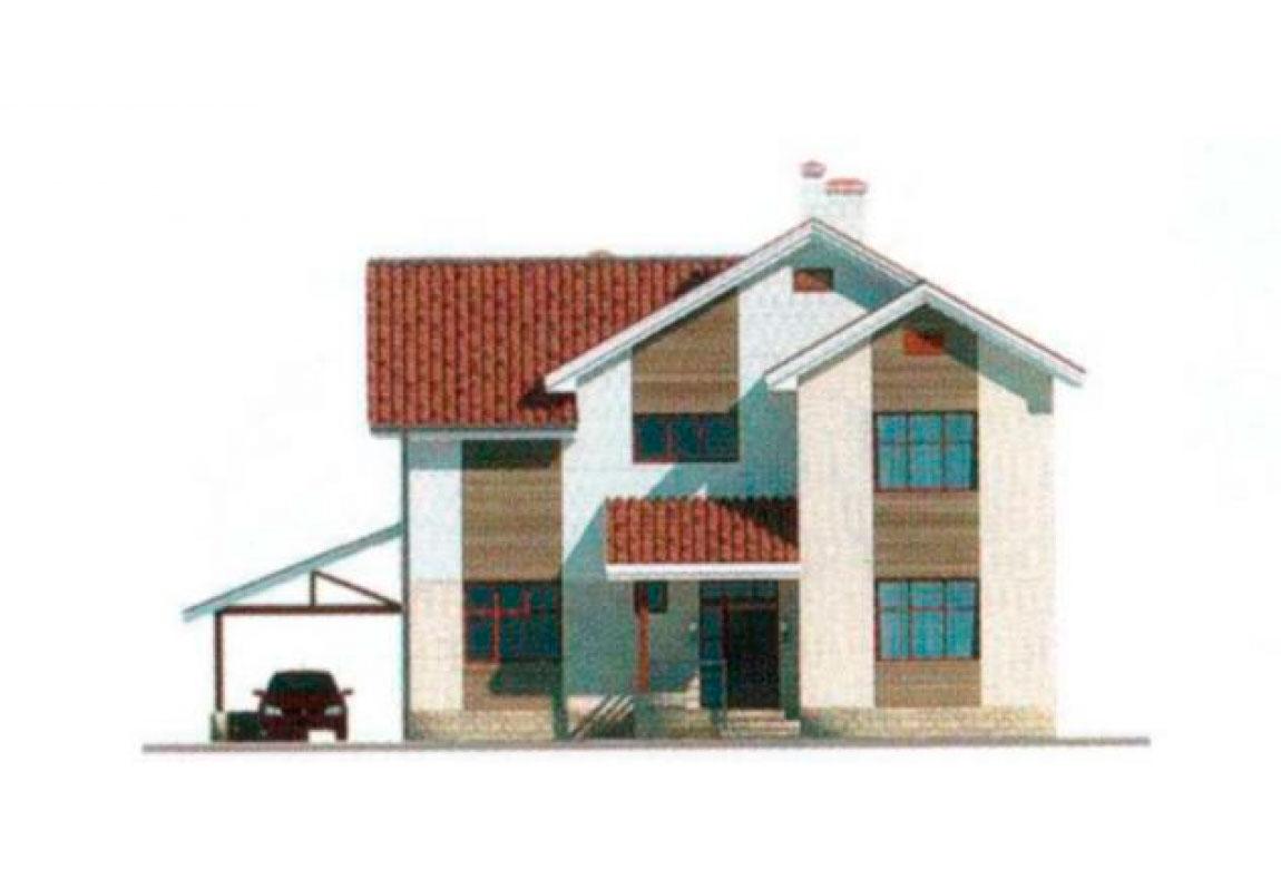 Проект дома из блоков АСД-1130 (uploads/gss/goods/130/big_5.jpg).