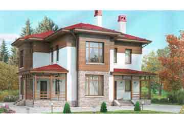 Проект дома из блоков АСД-1132