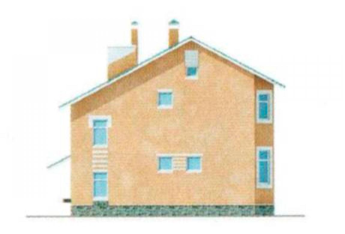 Проект дома из блоков АСД-1133 (uploads/gss/goods/133/big_3.jpg).