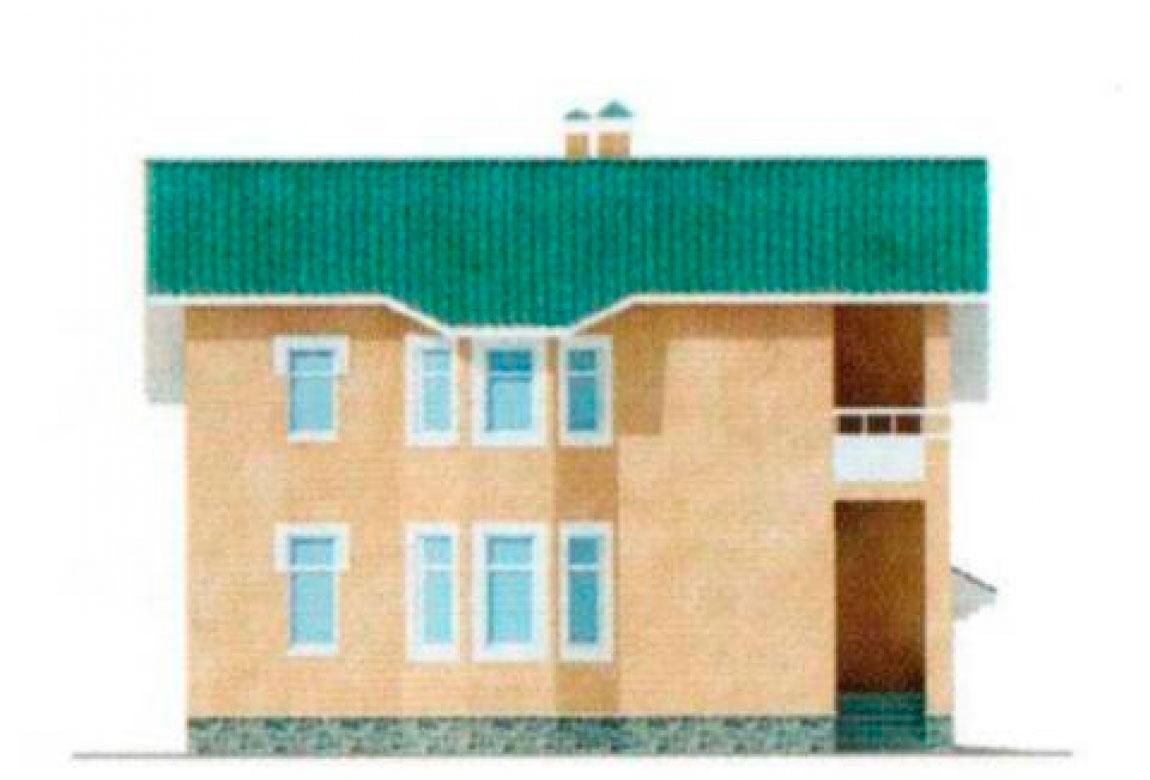 Проект дома из блоков АСД-1133 (uploads/gss/goods/133/big_4.jpg).