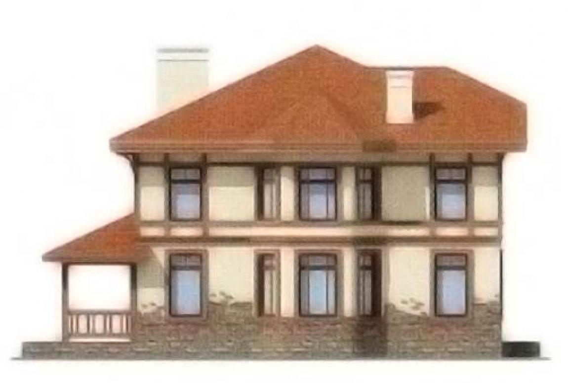 Проект дома из блоков АСД-1135 (uploads/gss/goods/135/big_2.jpg).