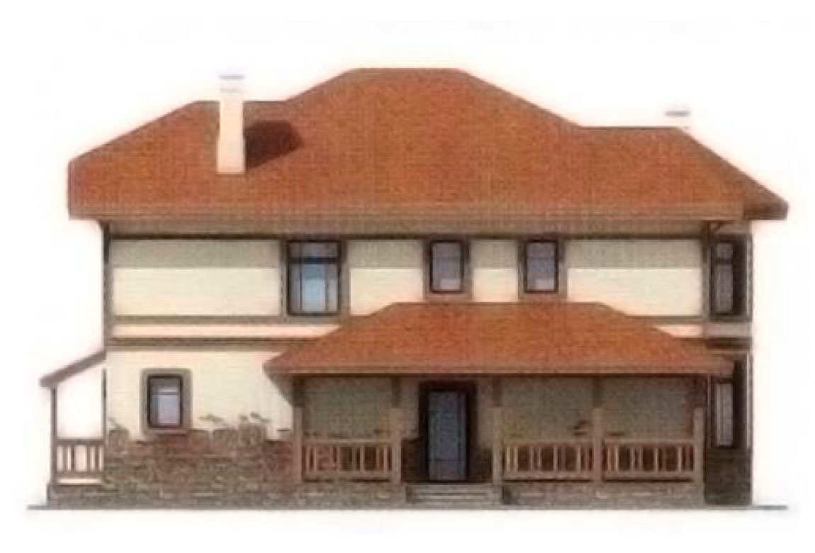 Проект дома из блоков АСД-1135 (uploads/gss/goods/135/big_3.jpg).
