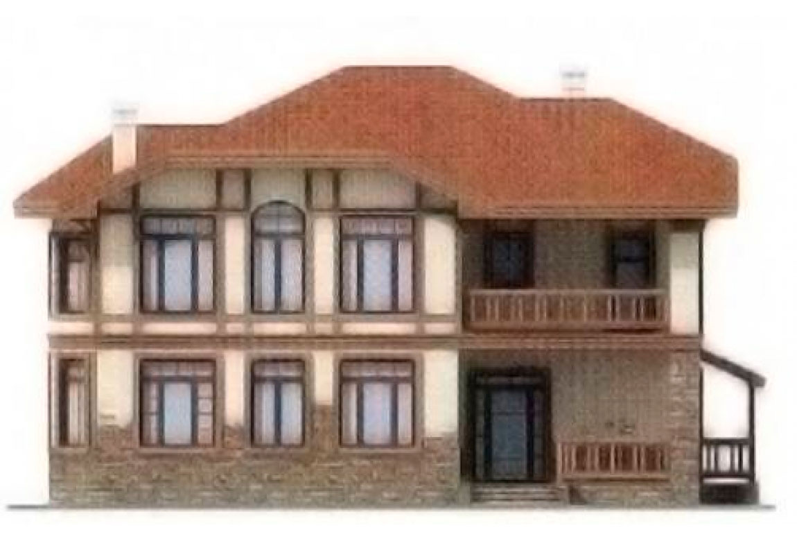 Проект дома из блоков АСД-1135 (uploads/gss/goods/135/big_5.jpg).