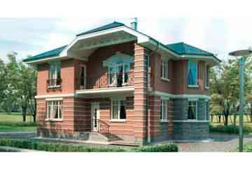 Проект дома из блоков АСД-1139