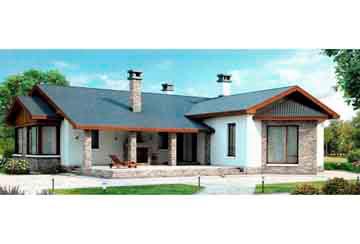 Проект кирпичного дома АСД-1014