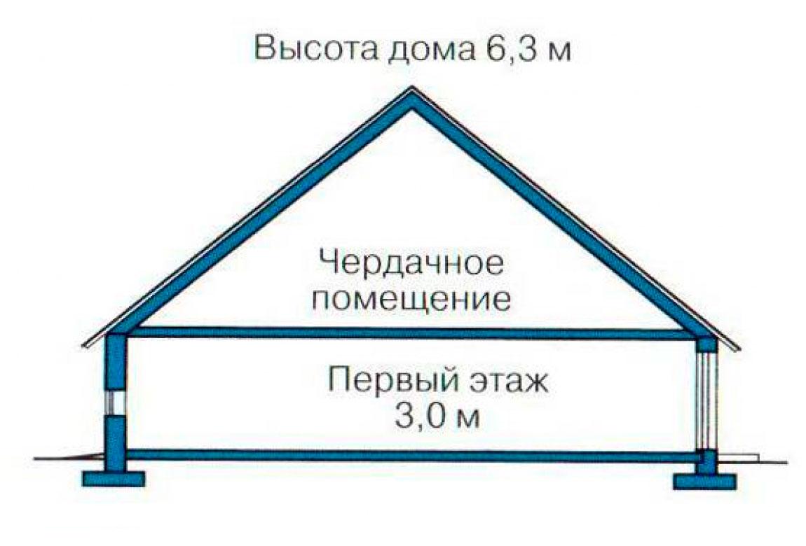 План N2 проекта кирпичного дома АСД-1014