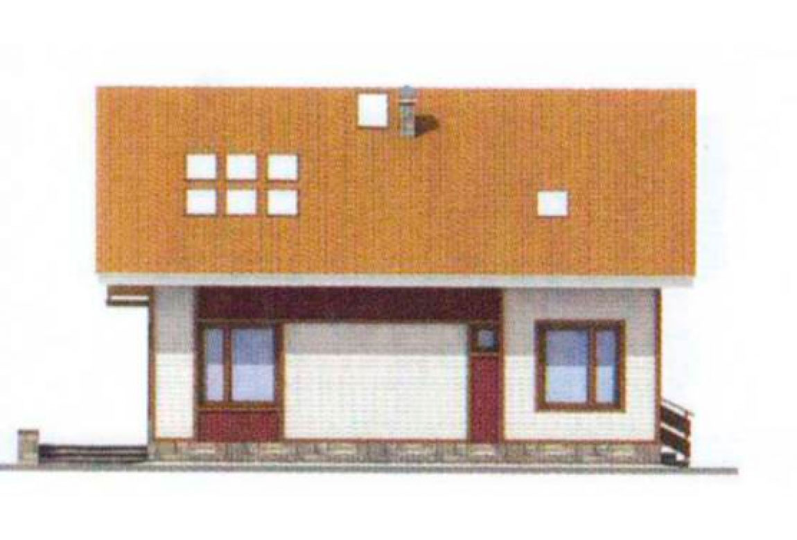 Проект дома из блоков АСД-1140 (uploads/gss/goods/140/big_4.jpg).