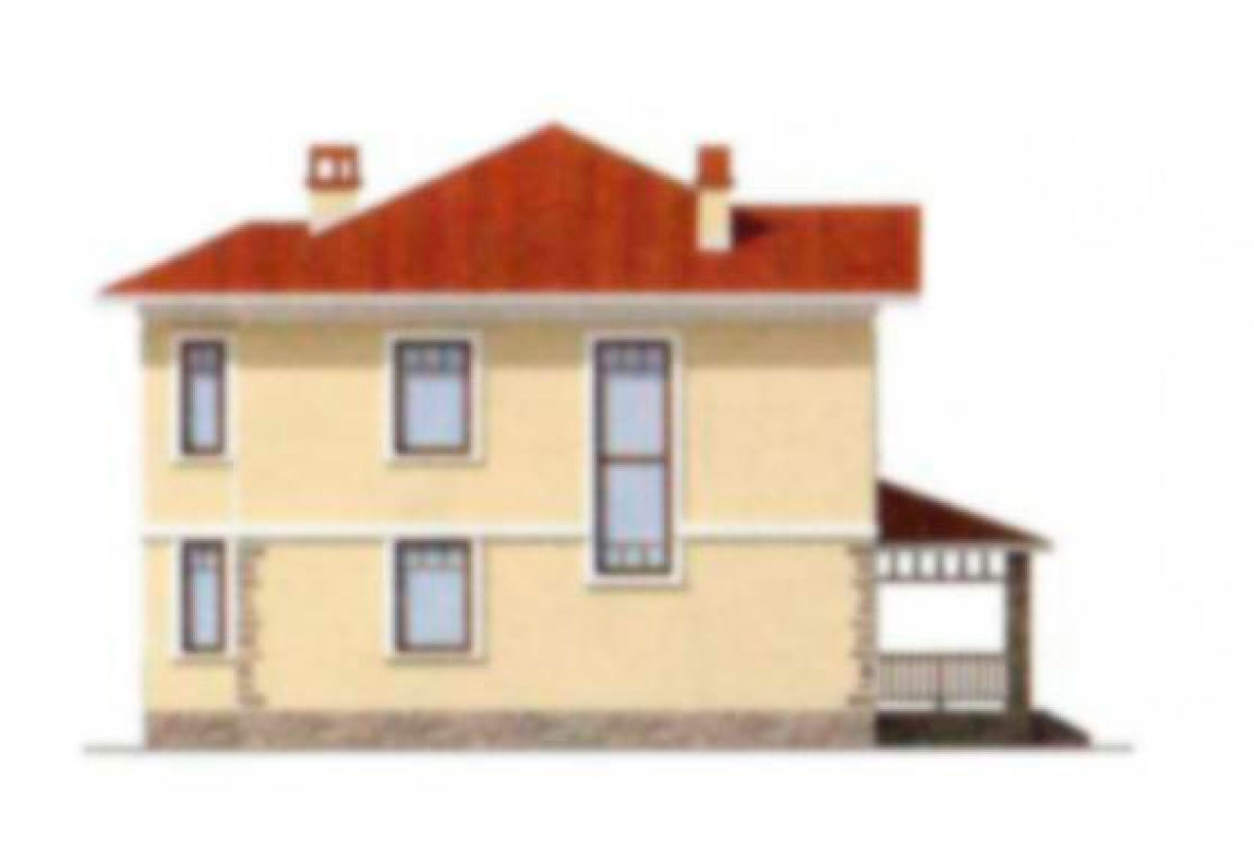Проект дома из блоков АСД-1142 (uploads/gss/goods/142/big_2.jpg).