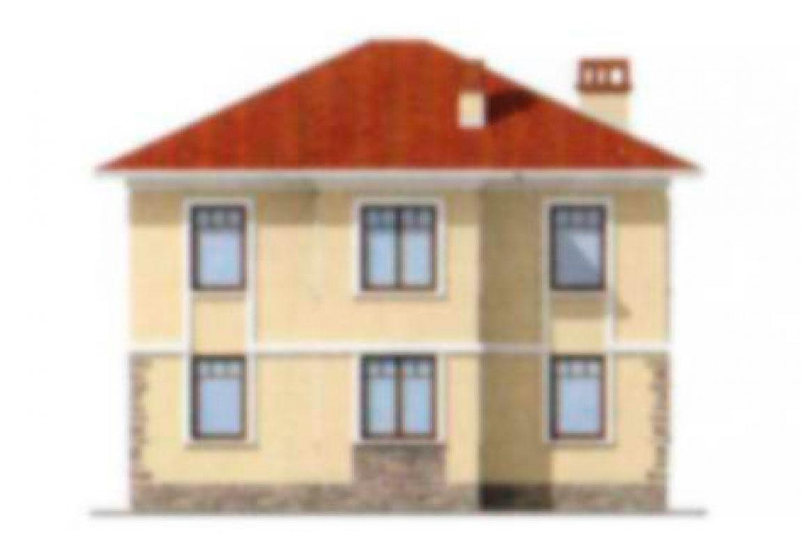 Проект дома из блоков АСД-1142 (uploads/gss/goods/142/big_3.jpg).
