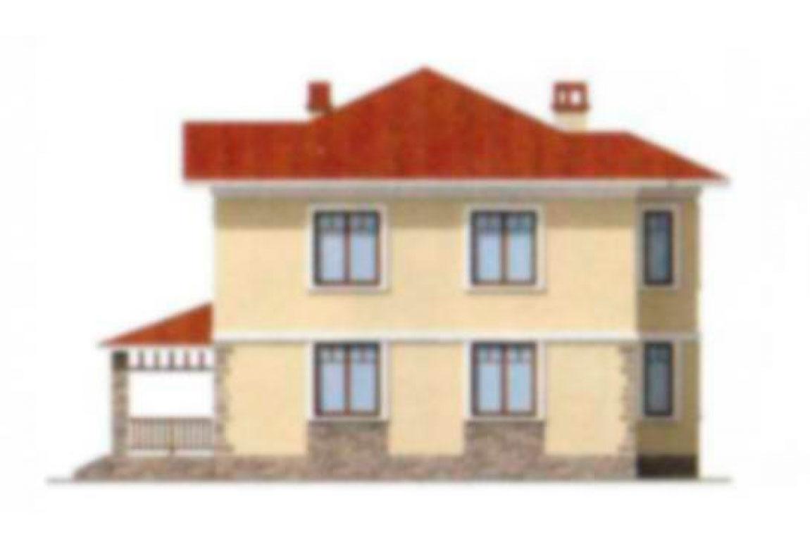 Проект дома из блоков АСД-1142 (uploads/gss/goods/142/big_4.jpg).