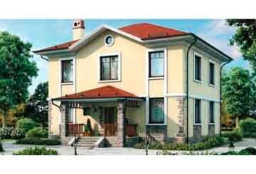 Проект дома из блоков АСД-1142
