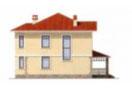 Проект дома из блоков АСД-1142 (uploads/gss/goods/142/thumb_2.jpg).