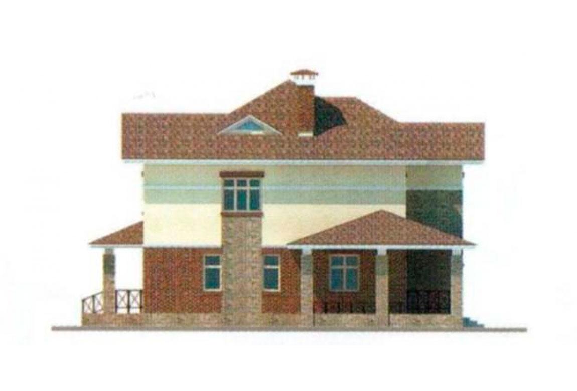 Проект дома из блоков АСД-1143 (uploads/gss/goods/143/big_4.jpg).