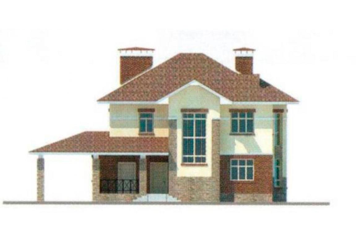 Проект дома из блоков АСД-1143 (uploads/gss/goods/143/big_5.jpg).