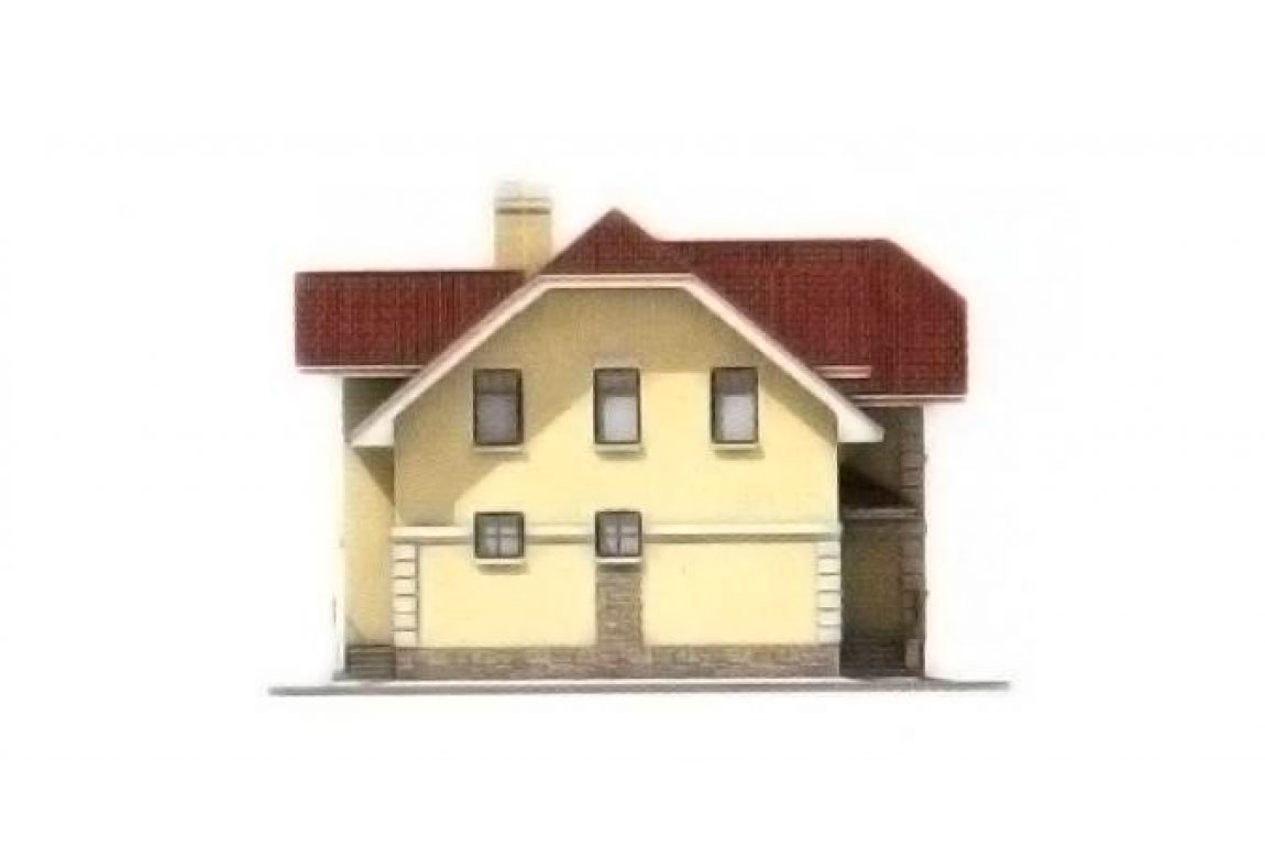 Проект дома из блоков АСД-1145 (uploads/gss/goods/145/big_2.jpg).