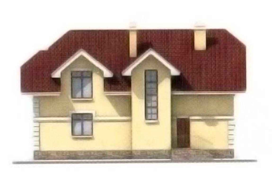 Проект дома из блоков АСД-1145 (uploads/gss/goods/145/big_3.jpg).