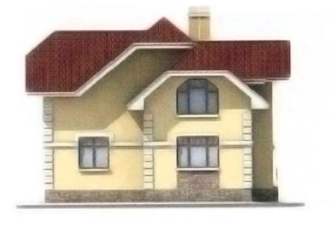 Проект дома из блоков АСД-1145 (uploads/gss/goods/145/big_4.jpg).