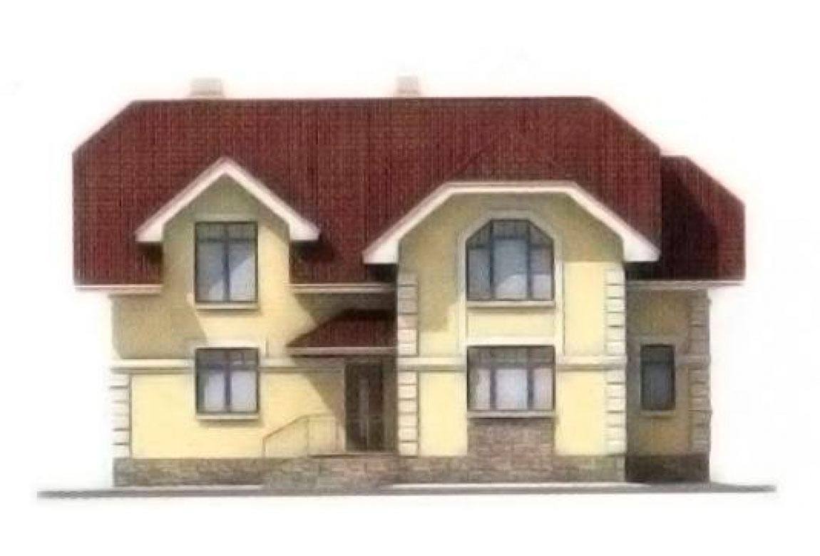 Проект дома из блоков АСД-1145 (uploads/gss/goods/145/big_5.jpg).