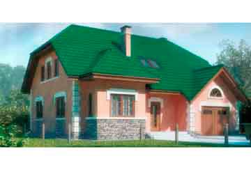 Проект дома из блоков АСД-1148