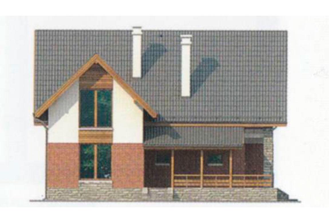 Проект дома из блоков АСД-1149 (uploads/gss/goods/149/big_4.jpg).