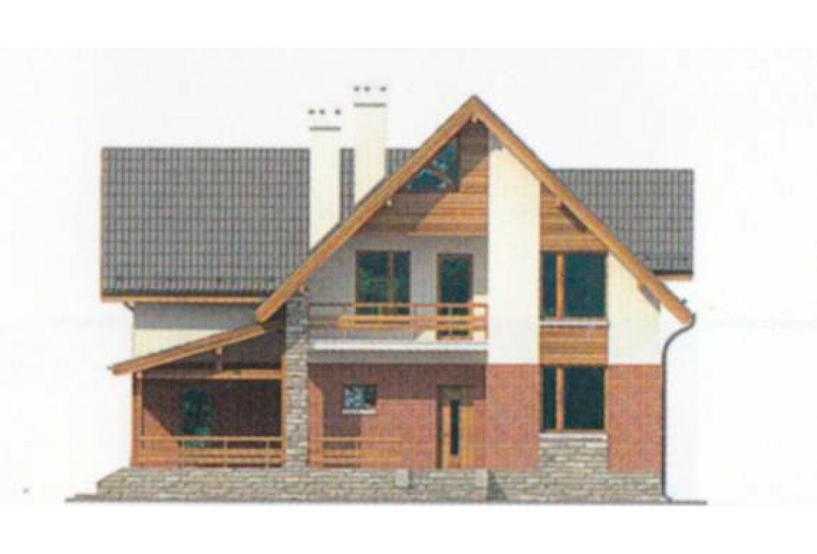 Проект дома из блоков АСД-1149 (uploads/gss/goods/149/big_5.jpg).