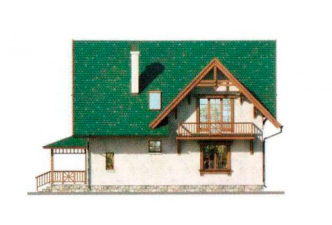 Проект дома из блоков АСД-1150 (uploads/gss/goods/150/big_2.jpg).