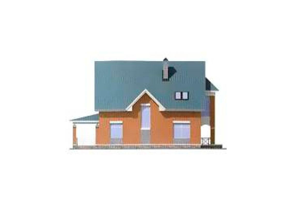 Проект дома из блоков АСД-1152 (uploads/gss/goods/152/big_4.jpg).