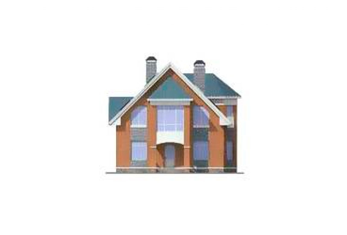 Проект дома из блоков АСД-1152 (uploads/gss/goods/152/big_6.jpg).