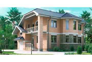 Проект кирпичного дома АСД-1016