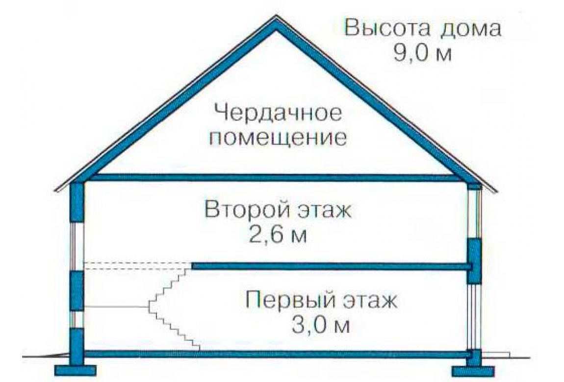 План N3 проекта кирпичного дома АСД-1016
