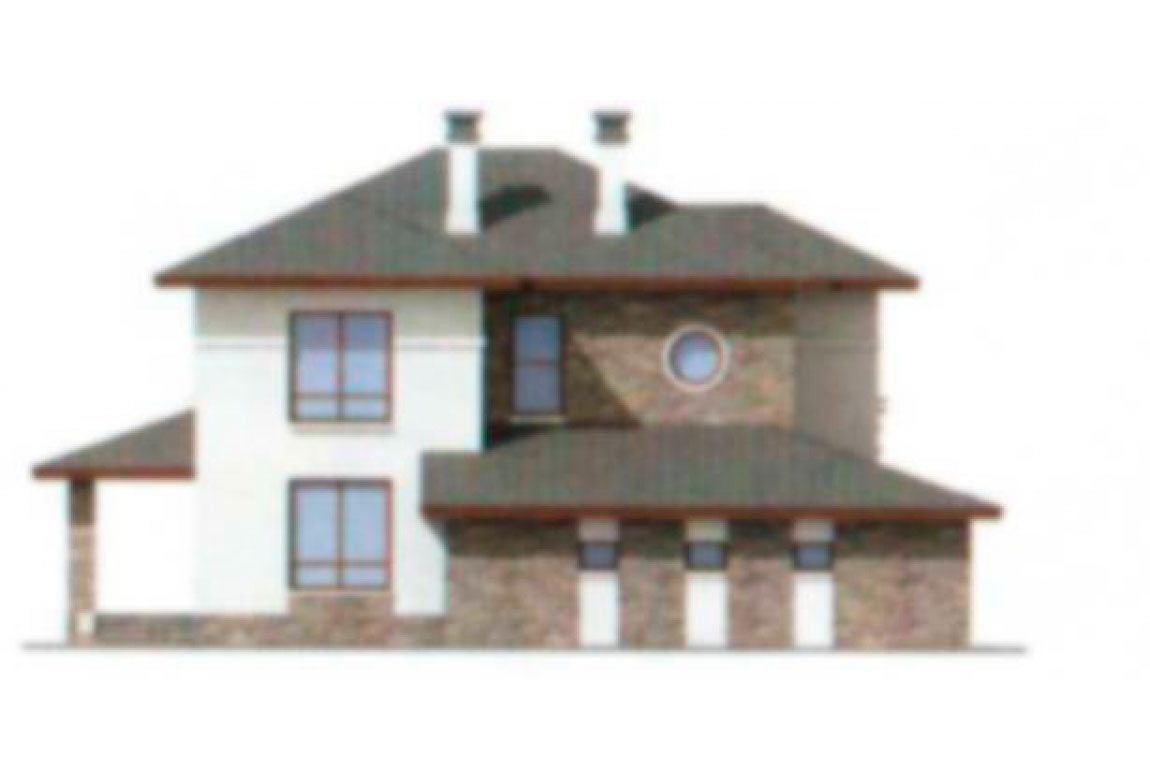 Проект дома из блоков АСД-1162 (uploads/gss/goods/162/big_2.jpg).