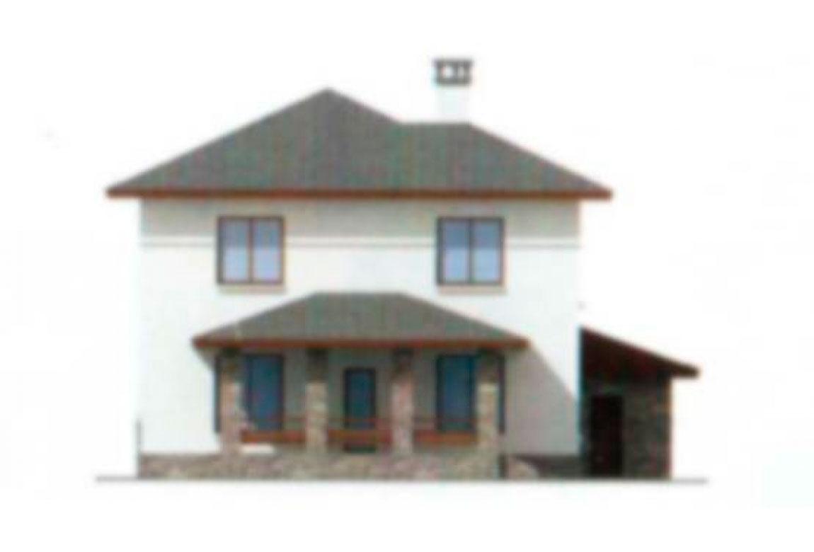 Проект дома из блоков АСД-1162 (uploads/gss/goods/162/big_3.jpg).