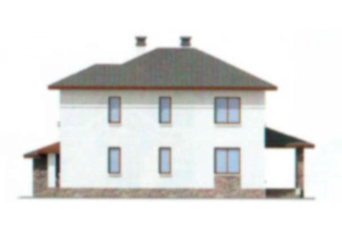Проект дома из блоков АСД-1162 (uploads/gss/goods/162/big_4.jpg).