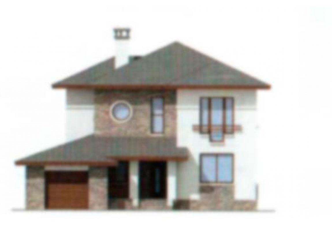 Проект дома из блоков АСД-1162 (uploads/gss/goods/162/big_5.jpg).