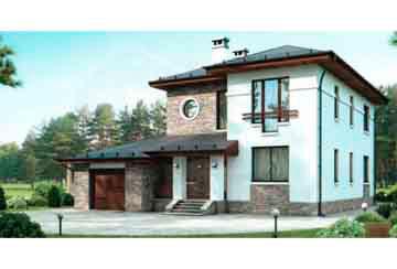 Проект дома из блоков АСД-1162