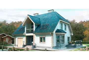 Проект дома из блоков АСД-1164