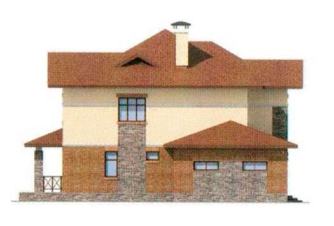 Проект дома из блоков АСД-1166 (uploads/gss/goods/166/big_2.jpg).