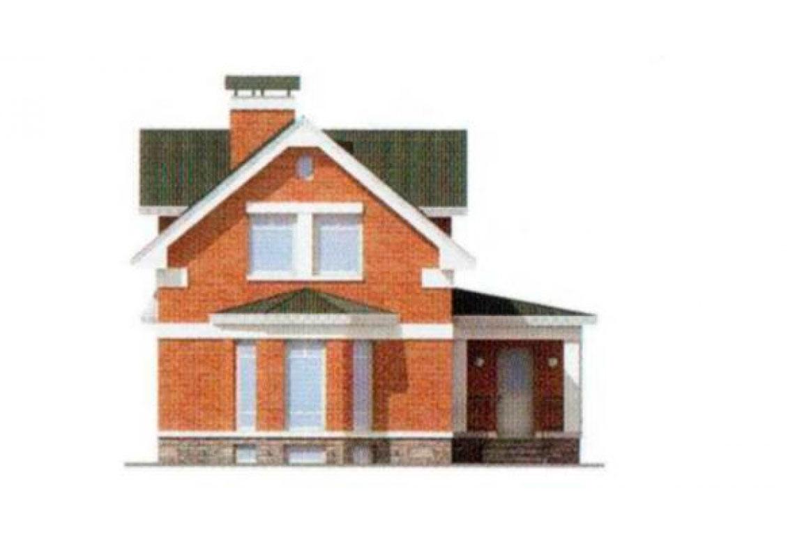Проект дома из блоков АСД-1167 (uploads/gss/goods/167/big_2.jpg).