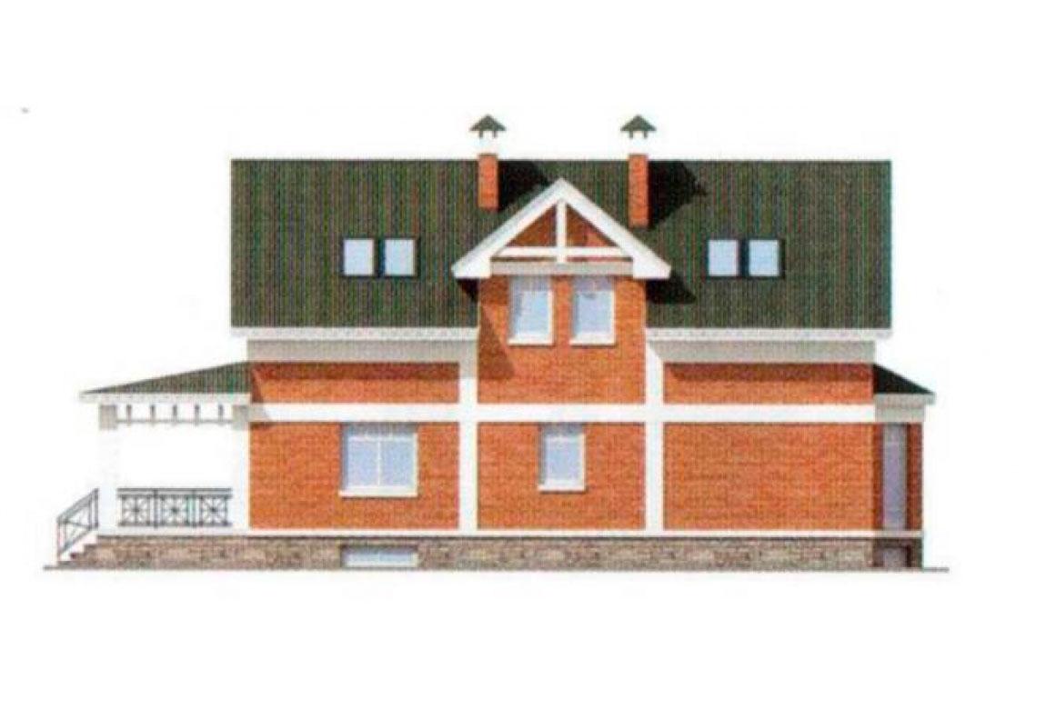 Проект дома из блоков АСД-1167 (uploads/gss/goods/167/big_3.jpg).