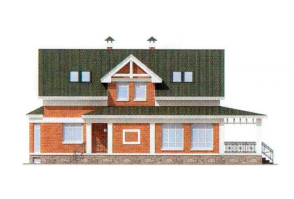 Проект дома из блоков АСД-1167 (uploads/gss/goods/167/big_5.jpg).
