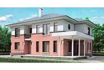 Проект дома из блоков АСД-1168