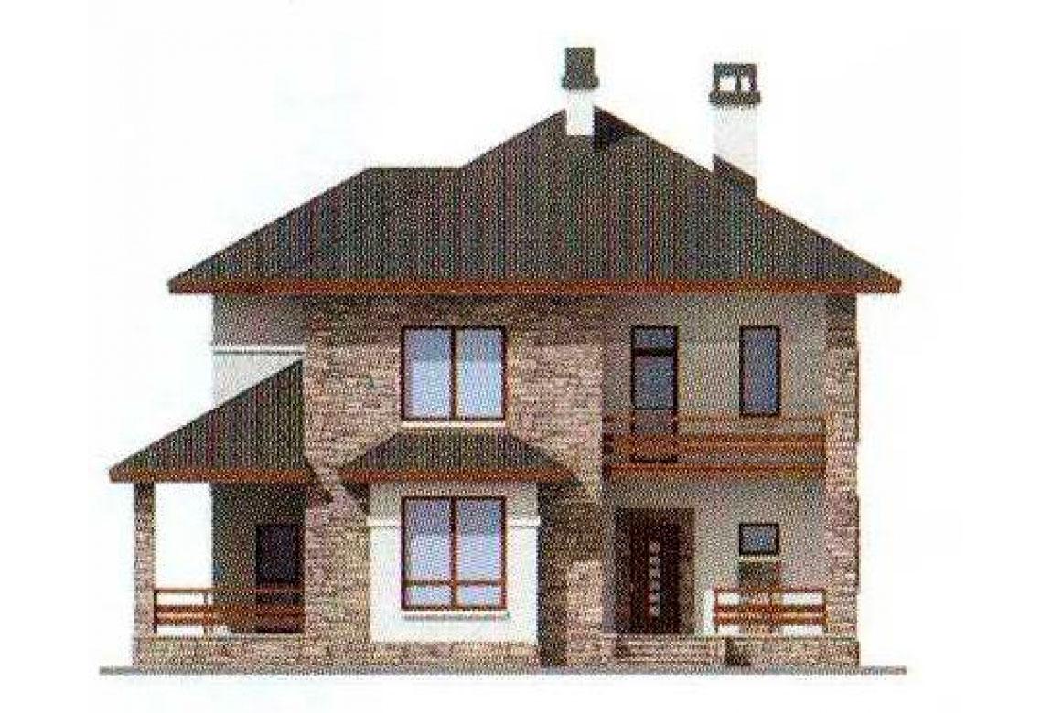 Проект дома из кирпича АСД-1017 (uploads/gss/goods/17/big_4.jpg).
