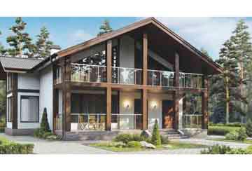 Проект дома из блоков АСД-1170