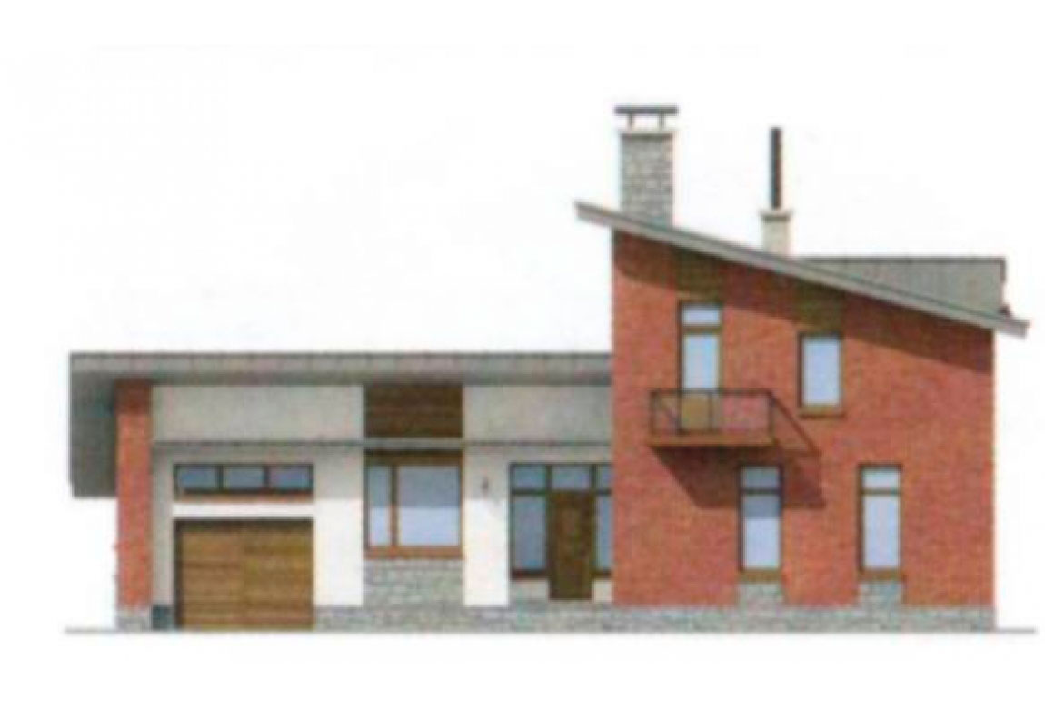 Проект дома из блоков АСД-1173 (uploads/gss/goods/173/big_5.jpg).