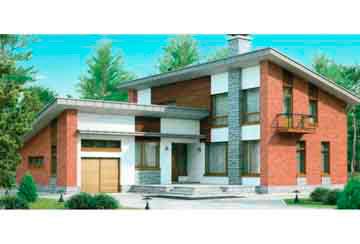 Проект дома из блоков АСД-1173