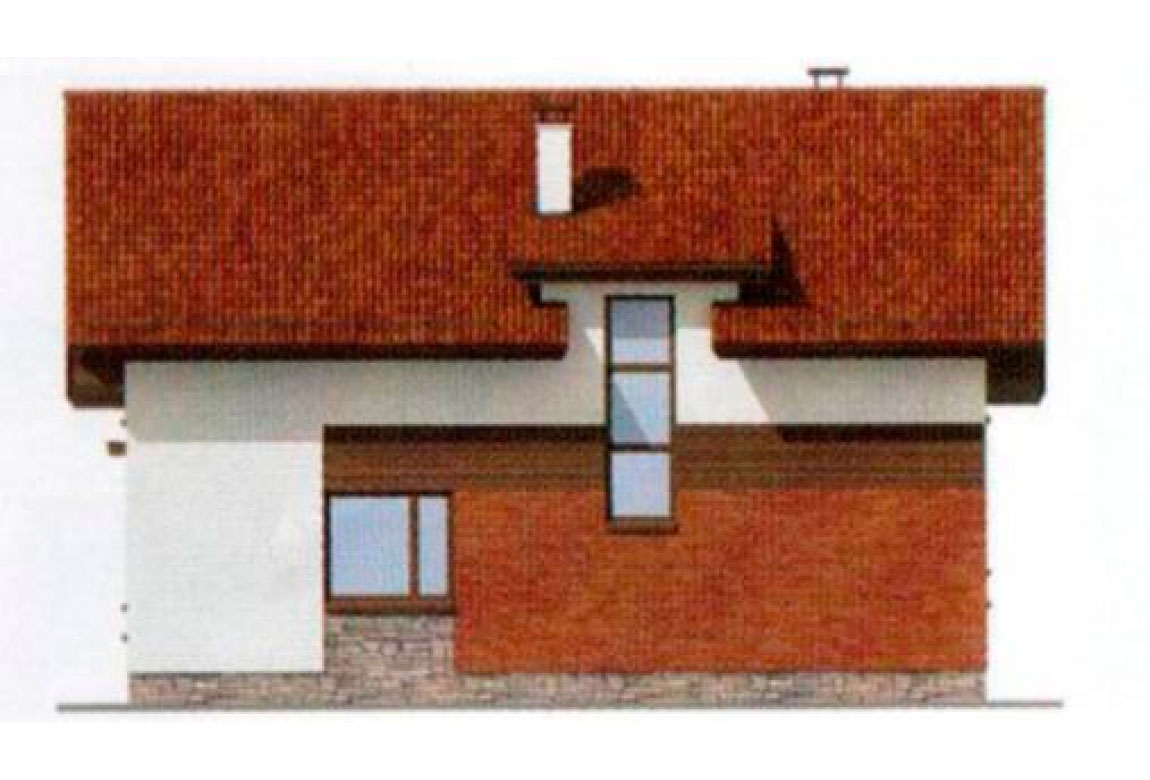 Проект дома из блоков АСД-1175 (uploads/gss/goods/175/big_4.jpg).