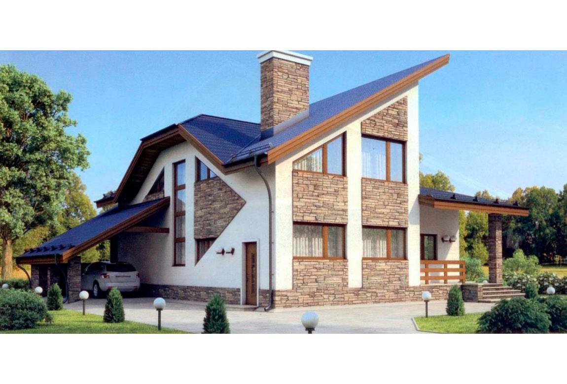 Проект дома из блоков АСД-1177 (uploads/gss/goods/177/big_1.jpg).