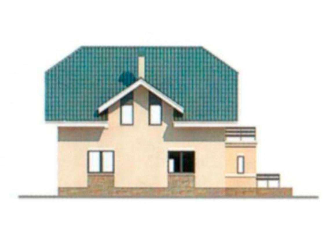Проект дома из блоков АСД-1178 (uploads/gss/goods/178/big_3.jpg).